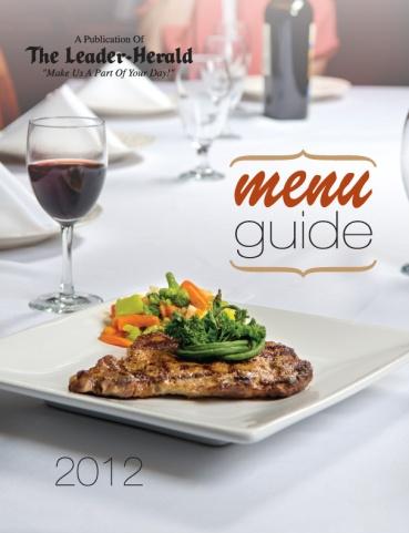 Menu Guide Cover 2